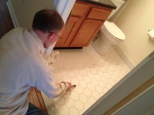 Frank scrubbing