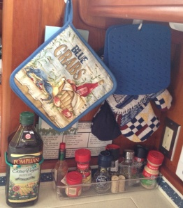 Space in the galley