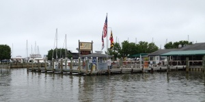 Knapps Narrows Marina and fuel dock