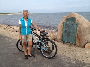 A great bike ride around Block Island.