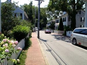 Walking around Martha's Vineyard