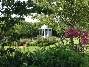 Beautiful gardens all around Edgartown