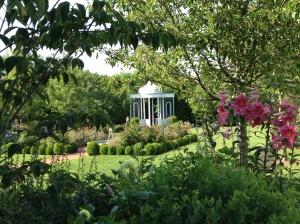 Beautiful gardens all around Edgartown