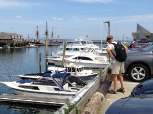 The harbor in Provincetown.