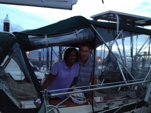 Jim and Vanessa on Wind Runner