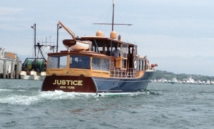 "Beautiful Vessel! This is a wood ""commuter boat"" built in the 30s. Absolutely stunning condition!"