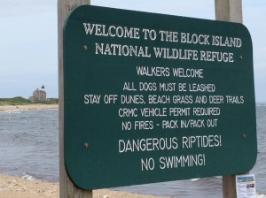 The National Wildlife Refuge by the northern point lighthouse. Hmm . . . what can you do here??