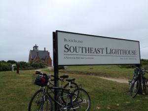 This was the far end of our bike trip . . . legs a'burnin'!