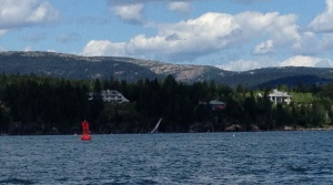 Arriving at Mount Desert Island