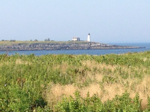 The view from the nature conservancy at Biddeford Pool