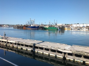 Here is some of the fishing fleet that remains in Gloucester.