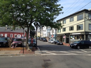 Downtown Marblehead. Great, historic city with very interesting architecture.
