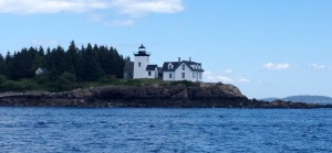 Indian Island Lighthouse was taken out of commission in the '30s and is now a private residence. How cool would that be?