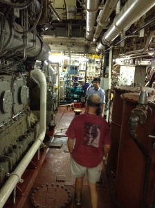 And a very big engine room!