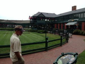 We enjoyed visiting the Tennis Hall of Fame