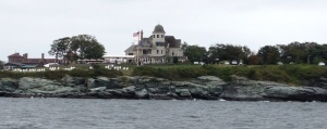 Two of the mansions of Newport.