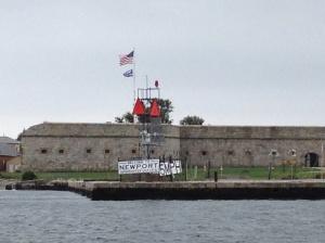 Historic Fort Adams in Newport