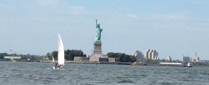 And then we cruised right by the Statue of Liberty.