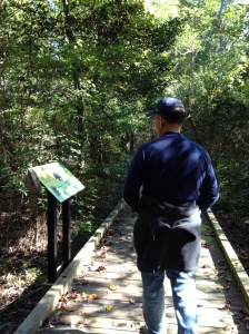 A stroll through the state park. Watch out for bears!