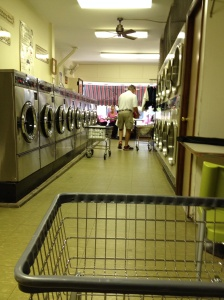 Maryland Ave. laundromat is a dream, and the day we were there, it was a cruiser's party! It made laundry day fun, if that's possible!