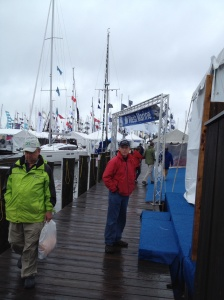 Boat Show - an annual pilgrimage.