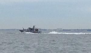 Navy gun boat