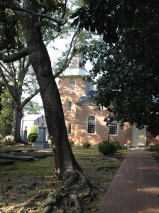 The second oldest church in North Carolina - built in the mid 1700s.