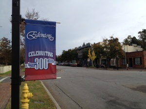 Edenton is 300 years old!