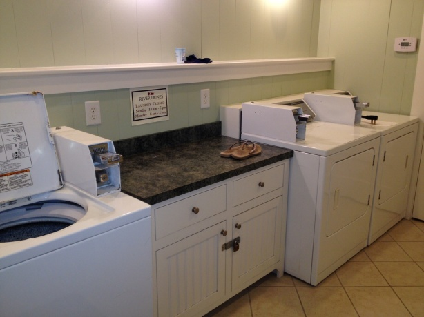 And a lovely laundry room it was!