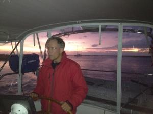 Leaving for Charleston at dawn.