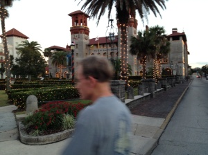 Walking through St. Augustine