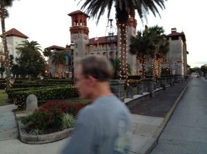 Walking through St. Augustine