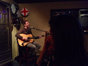 Then we found some great live music in St. Augustine - acoustic guitar and vocals . . . outstanding!