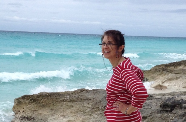 Annette and I took a great walk on the beach our first full day and explored town.
