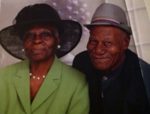 Mr. and Mrs. Rolle. I borrowed this picture from a beautiful article in their church magazine that spotlighted Mr. and Mrs. Rolle.