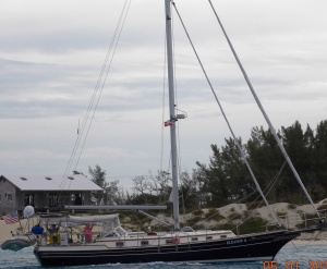 Leaving Bimini as taken by Time and Tide
