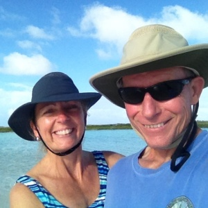 We were thoroughly enjoying our first few days in the Exumas! Sometimes you just gotta try a selfie - the newly added word to the US vocabulary in 2013.