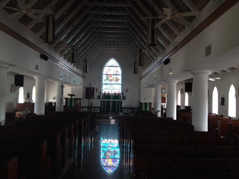 St. Andrew's Anglican-Episcopal Church in George Town. Beautiful!