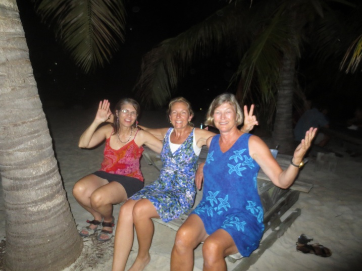 Ladies on dance night!