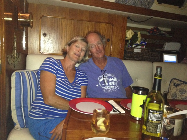 Ron and Nancy - our last night together . . . for now.