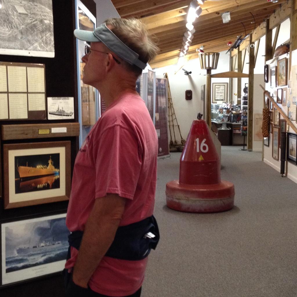 Exploring the Maritime Museum