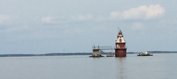 Sights on the Delaware Bay.