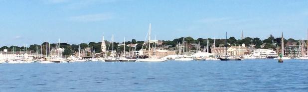 Newport - in all its nautical glory.