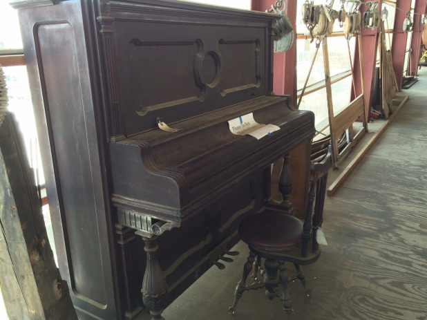 It even had a piano on it!! That would be interesting to play when you're heeling.