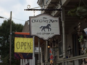 Walking around Chesapeake City - saw this shop. They say it ain't what it used to be.