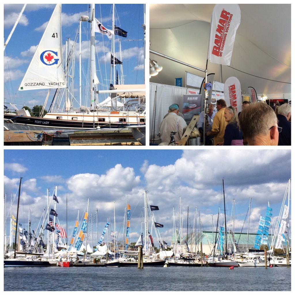 Our annual pilgrimage to the Annapolis Sail Boat Show